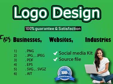 I can create your Business Logo in 24 hours