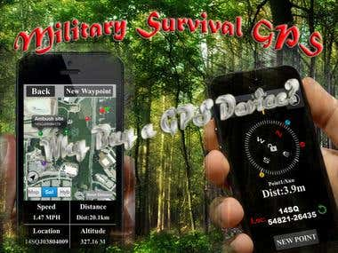 Military Survival GPS - Paid Version