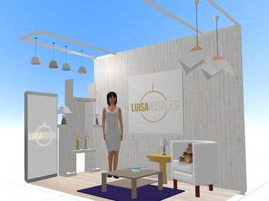 Luisa Rosales Stand
