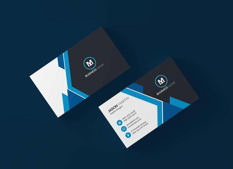 Business Card Design Portfolio Freelancer