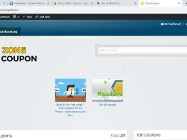 My Coupon Website