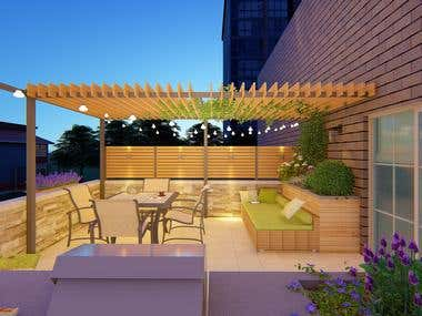 Roofdeck Remode l/ District of Columbia, United States