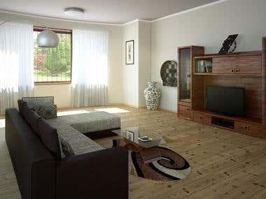 Interior visualization 1