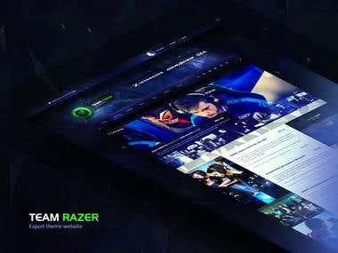 Team Razer Website