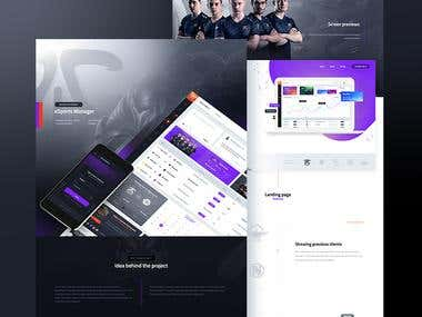 Designed a management system for eSports