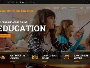 Educational Website (Codeigniter)