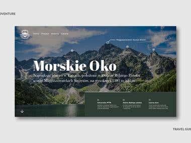 Web Design - Morskie oko