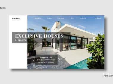 Web Design - Houser website Developer in Florida