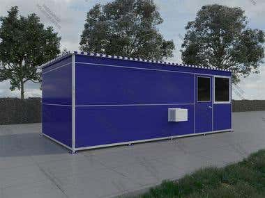 3D Booth exterior