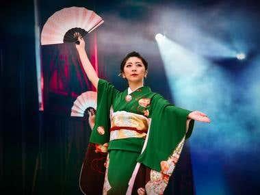 Media shot for Japan Matsuri Festival