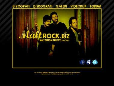 My Web Projects 1 - Rock Music (Active)