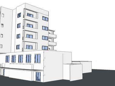 Conceptaul Sketup modelling