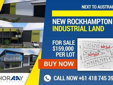 Billboard for a New Property
