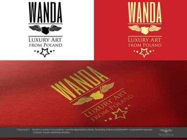 LOGO - WANDA LUXURY ART FROM POLAND