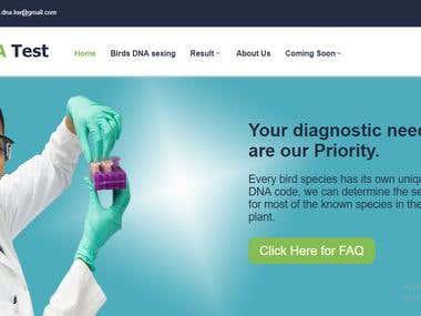 Birds DNA site