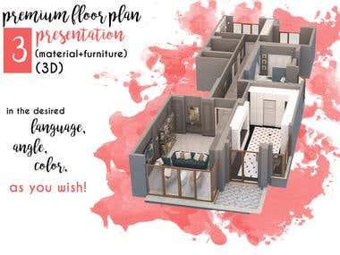 Floor Plan Presentations