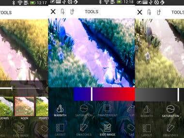 Photo Filter app