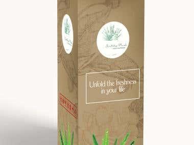 packaging and menu design