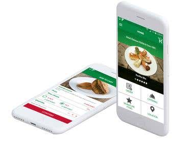 Hallab Food & Beverage Application