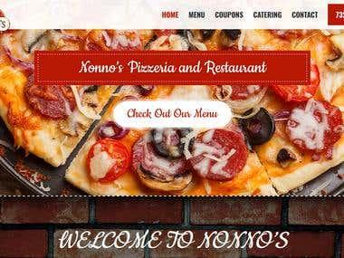 nonnospizzahowell.com (WordPress Development)