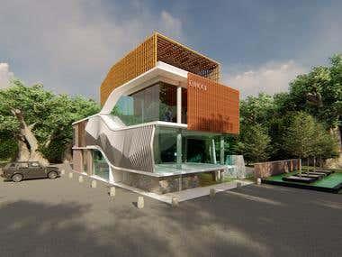 ARCHITECTURE - HOUSE COMPLETE DESIGN