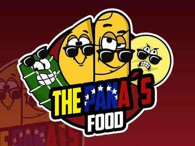 The Pana´s Food Logo