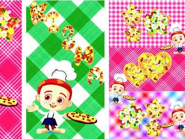 Pizza Maker - Cooking Game - Alphabet Pizza