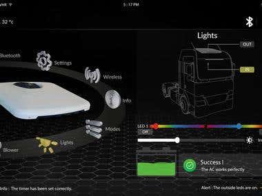 Graphic UI Design.