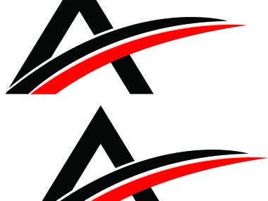 A Letter Logo