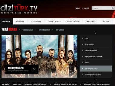 My Web Projects 2 - TV Series (Active)