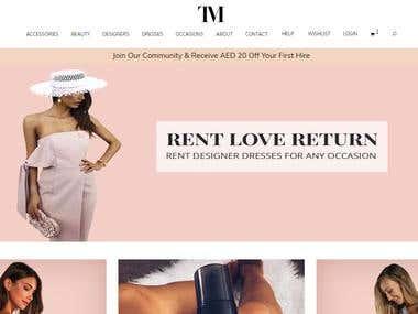 Rentail website