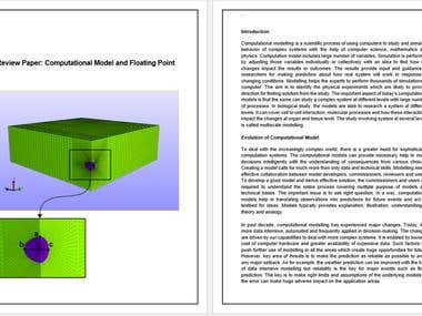 Review - Article and Technical Paper