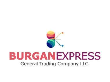 Burgan Express Advertising logo