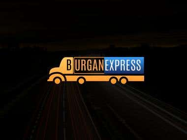 Logo burgan express transport company