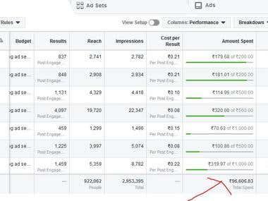 Facebook Campaign Management