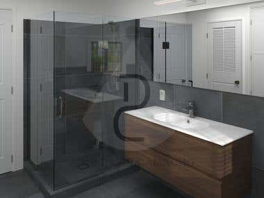 BATHROOMS - 3D Modeling & CAD