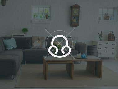 Logo Concept for HUB, Hand-Made Furniture Packages Business