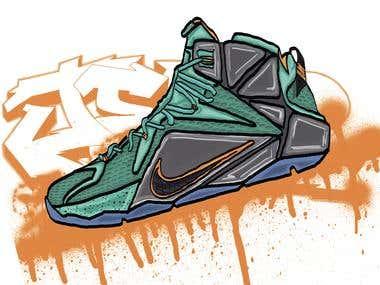 The Nike Shoe