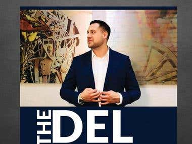 "Podcast Cover Art for ""The Del Denney Show"""