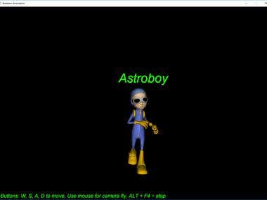Skeleton Animation, OpenGL, Assimp