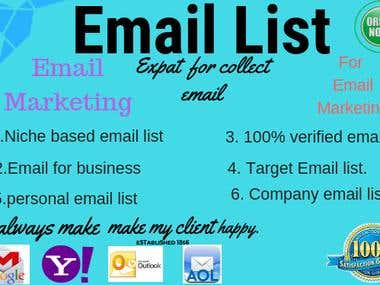Email Collection For your Business