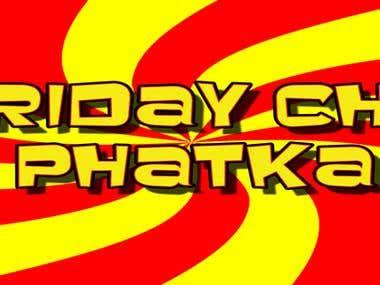 Friday Cha Phatka Youtube channel art