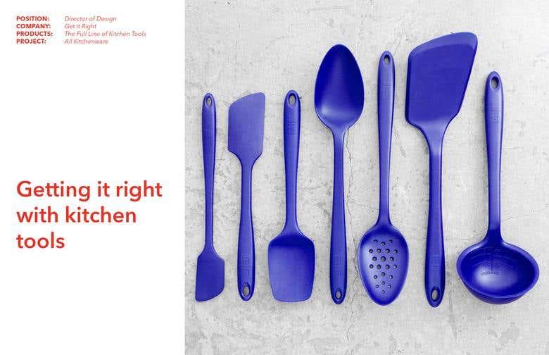 Get It Right Kitchen Tools Freelancer
