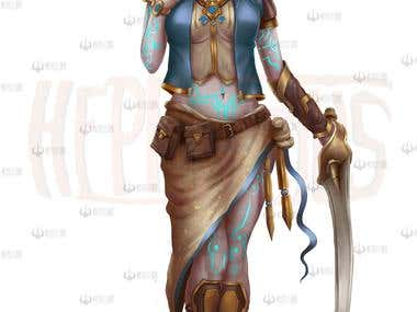 Thendawin Female character