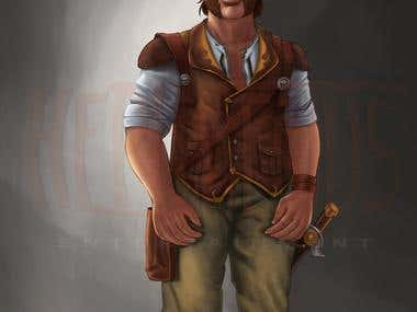 Drawf Character