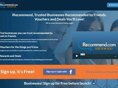 https://irecommend.com/ Business social promotion