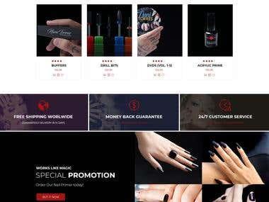 Nail Website