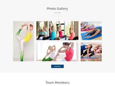 Omni Yoga Website