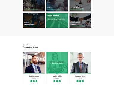 Law Firm Website Design for AND IT