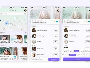 Mobile Application Development - Salon Application